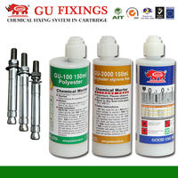 Polyester resin 150ml coaxial two component cartridge