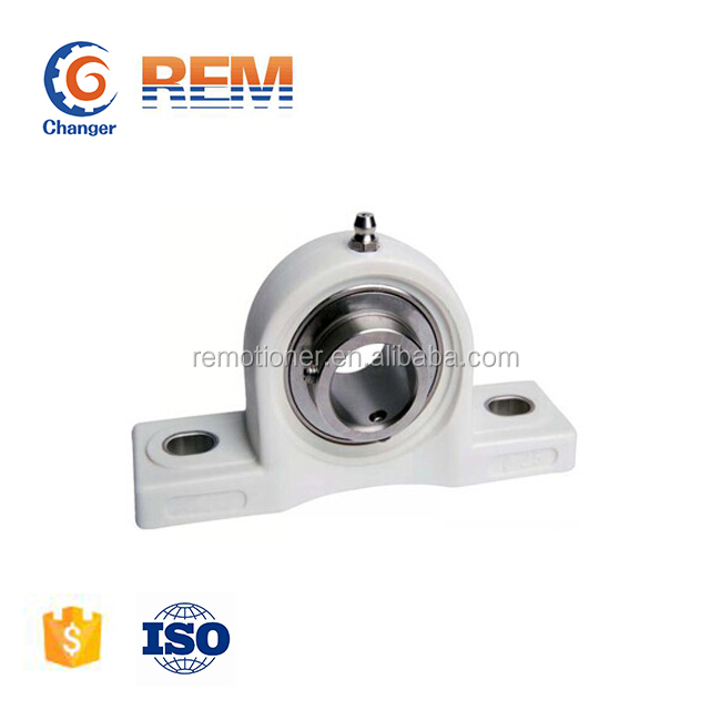 plastic pillow block bearing with stainless steel bearing UCP207-20 in stock