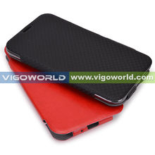 Kroo - Folio PU Leather Stand Case Cover with Super Thin Fiber Lining for Samsung Galaxy Note 2 II N 7100