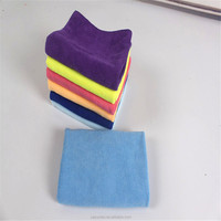 Microfiber hair salon towel colorful microfiber wrap towel in cleaning clothes