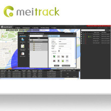 Meitrack project tracking software for gps tracker with google Maps Customization accepted MS03