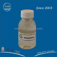 Polyamine for water treatment polyamine in water clarification