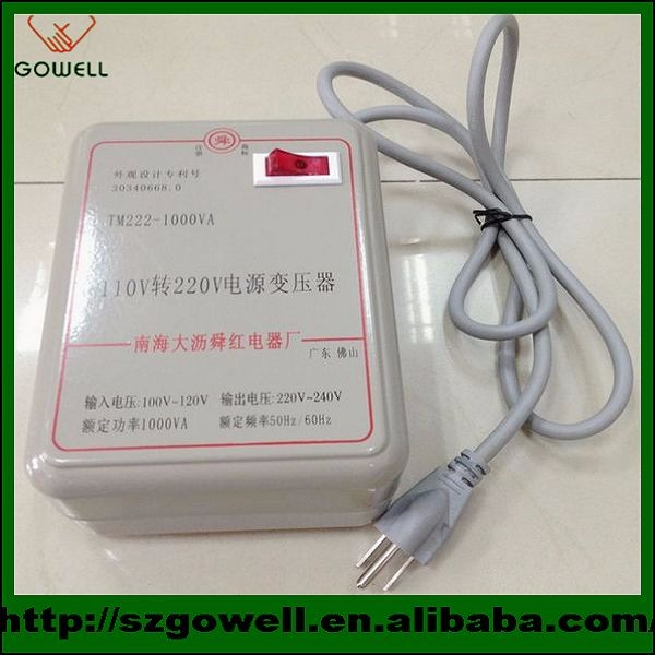Power Transformer converter 110V to 220V electric converter transformer 220v to 110v two type