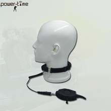 Throat Microphone Tactical bulletproof shield headset for riot police and spacial forces PTE-796