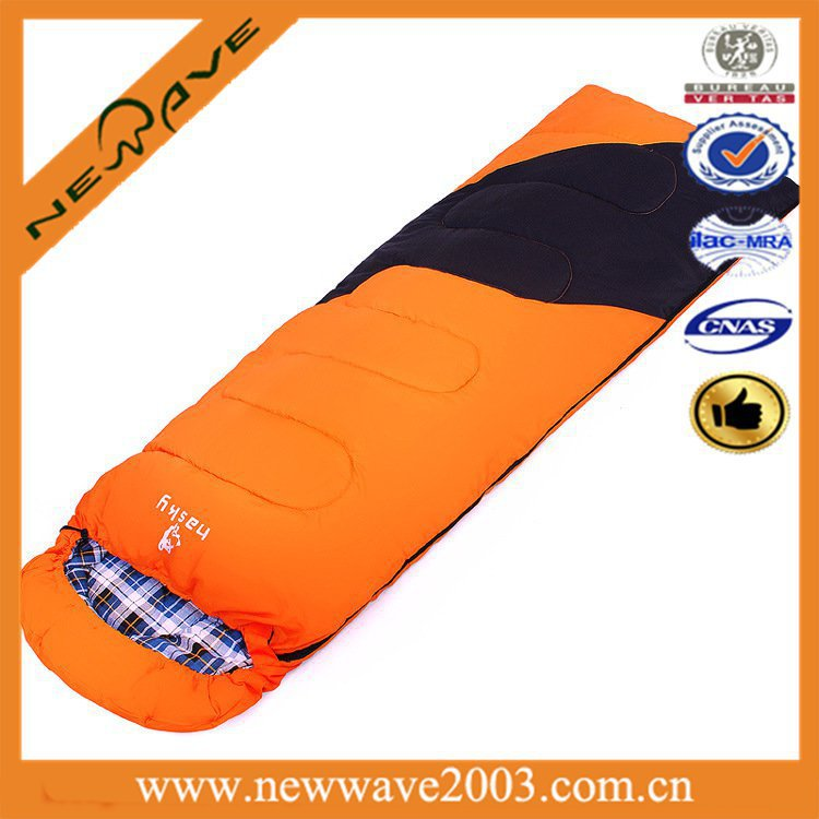 With flannel Wholesale waterproof sleeping bag cover for cold weather