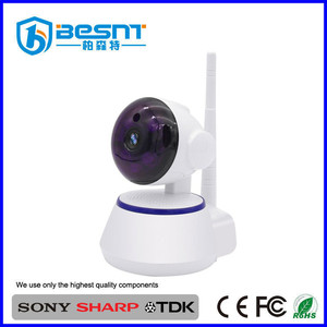 Cheapest ir pan tilt ptz 720p ip camera wifi wireless with two-way audio chat function BS-IP03