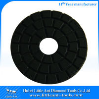 Black Buff Diamond Polish Discs 100mm diameter ceramic tile granite
