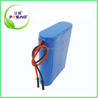 CE UL MSDS approved rechargeable lithium ion / li ion 12V battery pack
