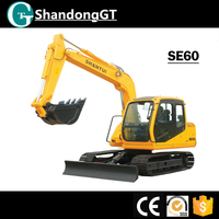 High quality cheap brand SHANTUI Doosan excavator excavator for sale