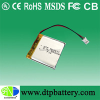 DTP 3.7v 550mah lithium polymer battery for power tool