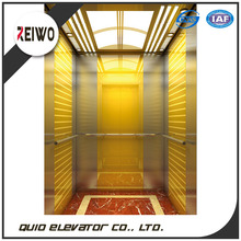 Hot sell machine roomless office building passenger elevator cabin