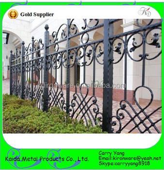 Home Garden Decoration Antique Bronze Color Wrought Iron