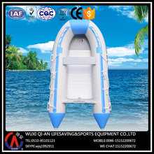 3-5 seats inflatable kayak boat with engine for fishing entertainment