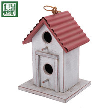 wholesale china factory direct sale colored rustic wooden bird cage