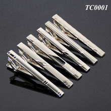 Wholesale Multi Hundred Styles Gentleman Silver Simple Necktie Tie Clip Bar Pin Practical Men Style Metal Blank Tie Clips