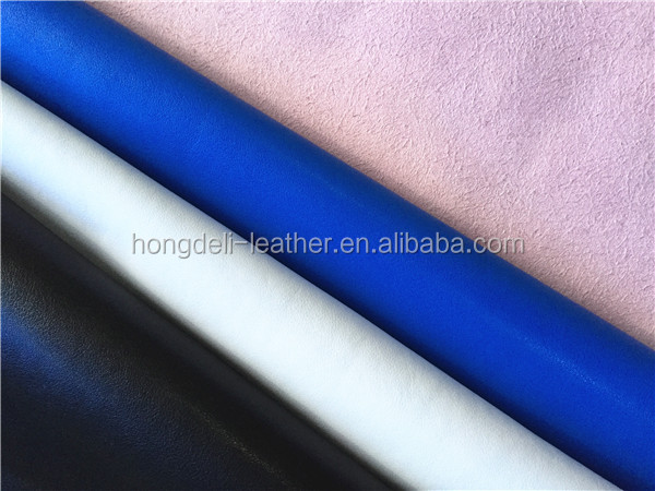 high quality microfiber leather for shoes and sofa furniture , zhejiang pu leather, breathable microfiber pu leather safty shoes