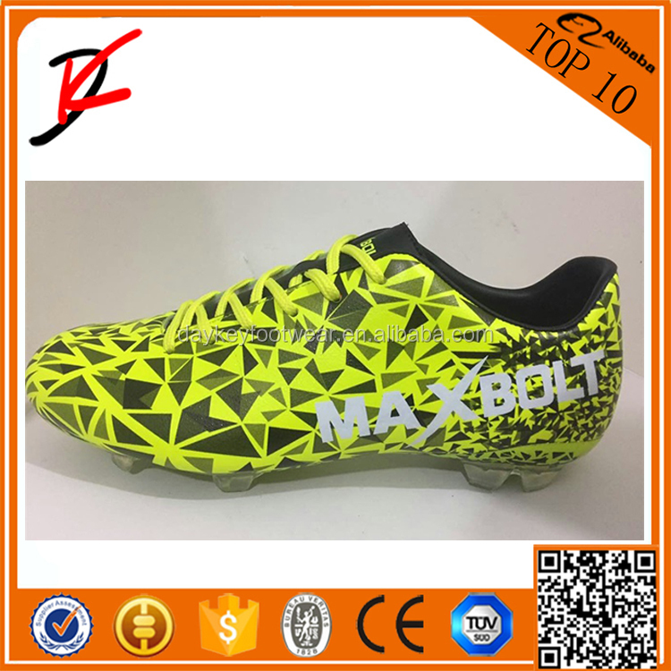 Grass soccer shoes made in China factory indoor soccer shoes cool man outdoor football shoes