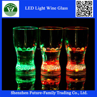 Wholesale Lighted Wine glass /led cup for night club