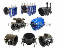 repair clamps for ductile iron pipes