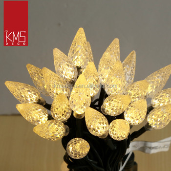 C3 pinecone fairy lights led connectable warm white 50L