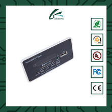 China Shenzhen High Quality Vire Bluetooth Mini Fm Radio Usb Mp3 Player Module