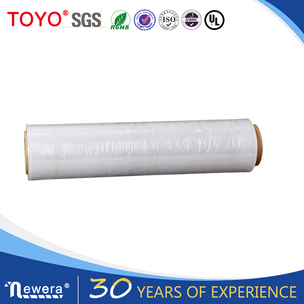 Pe transparent packaging stretch wrap film