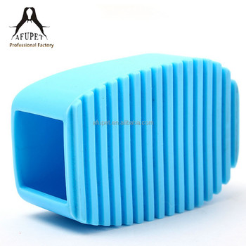 comportable silicone pet brush pet comb for wholesale