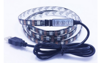 USB connector 5v RGB led strip klt for Tv back lighting waterproof usb powered led strip