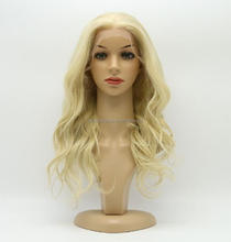 Aliexpress Factory Supply High Quality Body Wave Long Blonde Human Hair wig