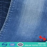 Best selling trendy style colored pure cotton denim fabric in many style