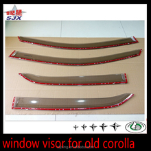 For toyota corolla 2008 window visor car side doors rain deflector