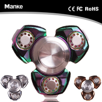 2017 Newest products Fidget spinner for Adults Stress-Relief hand spinner with 6087 bearings