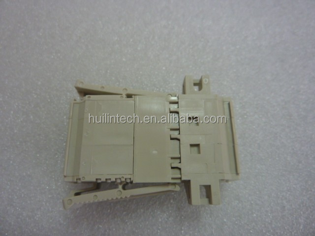 Spring clamp wiring plastic wago 721-202 grey connectors