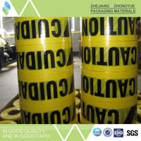 Standard underground electric detectable warning tape