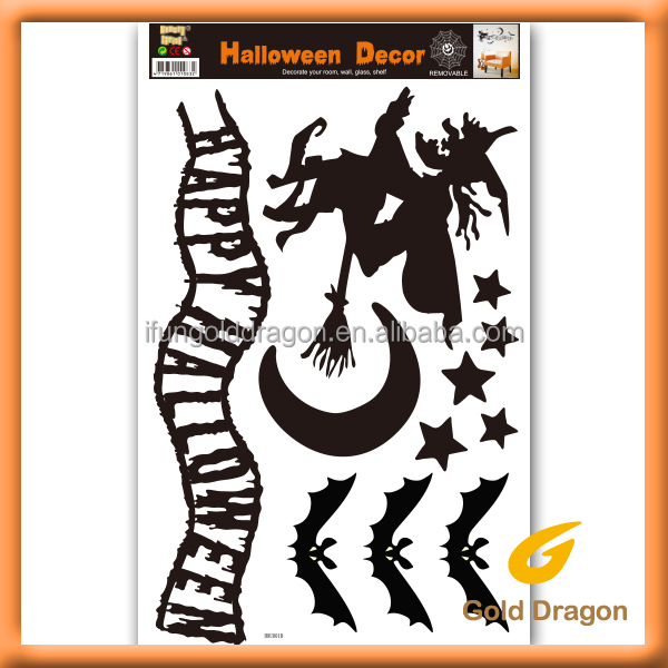 halloween wall stickers home art deco