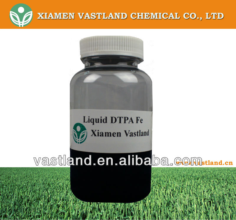 High quality liquid edta fertilizer dtpa fe supplier