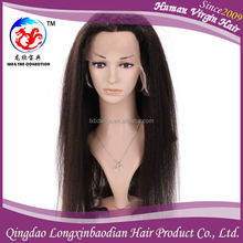 hairstyles for round faces Express Wholesale Price Virgin Brazilian Human Hair Natural Color Virgin Indian Remy Full Lace Wig
