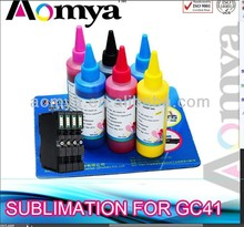 GC41, Sublimation ink for Ricoh GC41 compatible cartridge, With sublimation
