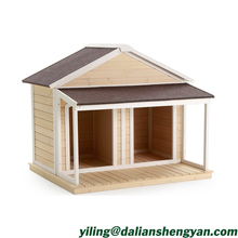 Inexpensive Duplex Double Eco-friendly Wood Dog House