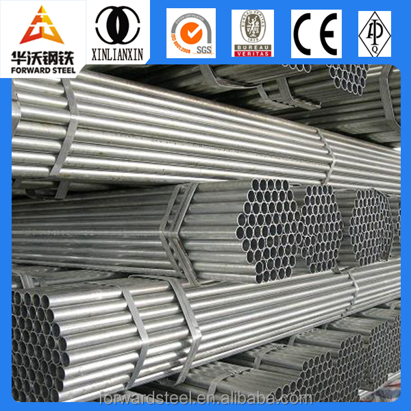 DIN 2448 ST37 PIPE / CARBON WELDED PRE-GALVANIZED STEEL PIPE