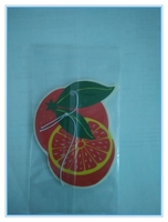 fragrance hanging paper cardboard air freshener for car use