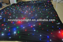 LED star cloth 4*6meter mixed RGB/led twinking stars led curtain lights