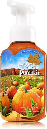 OEM pumpkin disinfection water wash hand soap from factoty