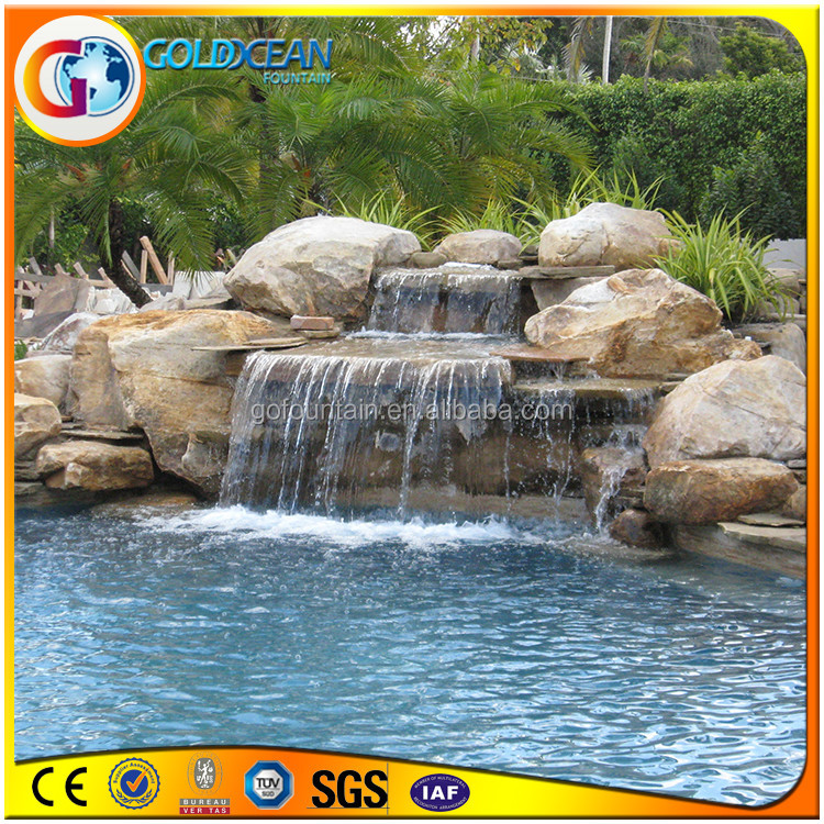 Top seller artificial waterfall rocks for decoration