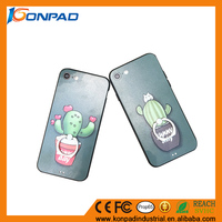 Funny Green Cell Phone Cover Strong Ring Holder For iphone 7 case