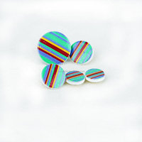rainbow swe button for clothing