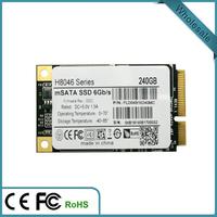 240GB msata ssd mSATA III 6Gb/s 2.5in made in China