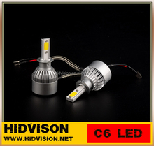 OEM PRICE C6 36W 3800LM 6000K 3000K Headlight H3 BEAM LED Head Lamps