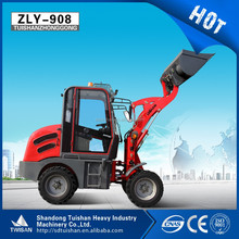ZLY908 road construction equipments wheel loader farm tractor in china
