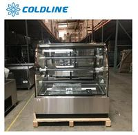 Single-temperture style and CE certification countertop cake refrigerated cabinet